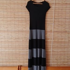 GAP Cap Sleeve Pull On Maxi Dress